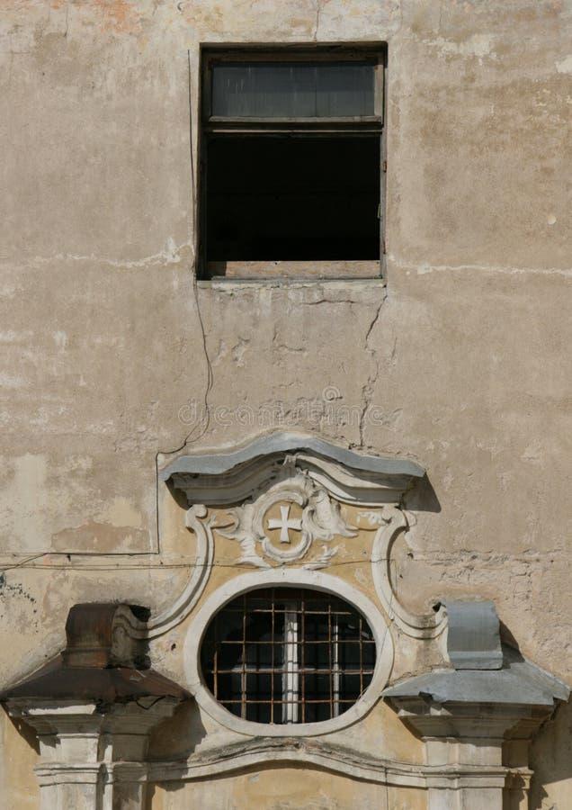 Barockdetails in Vilnius stockfoto
