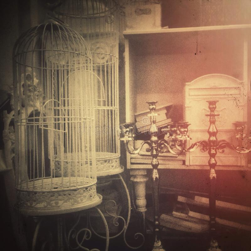 barocke Ablagerung stockfotos