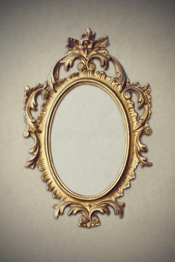 Barocker Bilderrahmen stockbild. Bild von gold, barock - 24830721