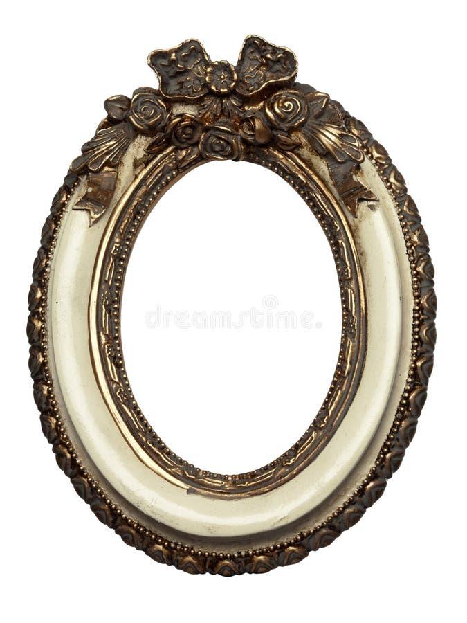 Barocker Bilderrahmen Der Ovalen Form Stockfoto - Bild von form ...