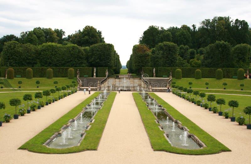Barocker Garten stockbilder