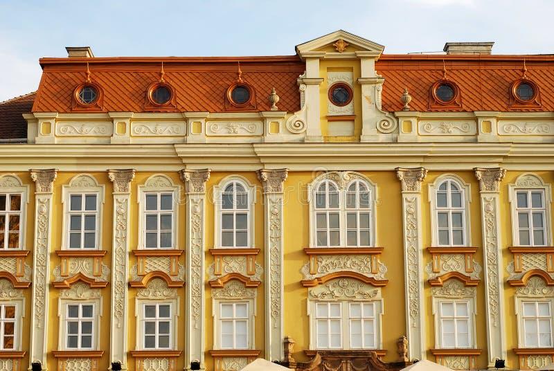 Barockes Gebäudedetail lizenzfreie stockfotos