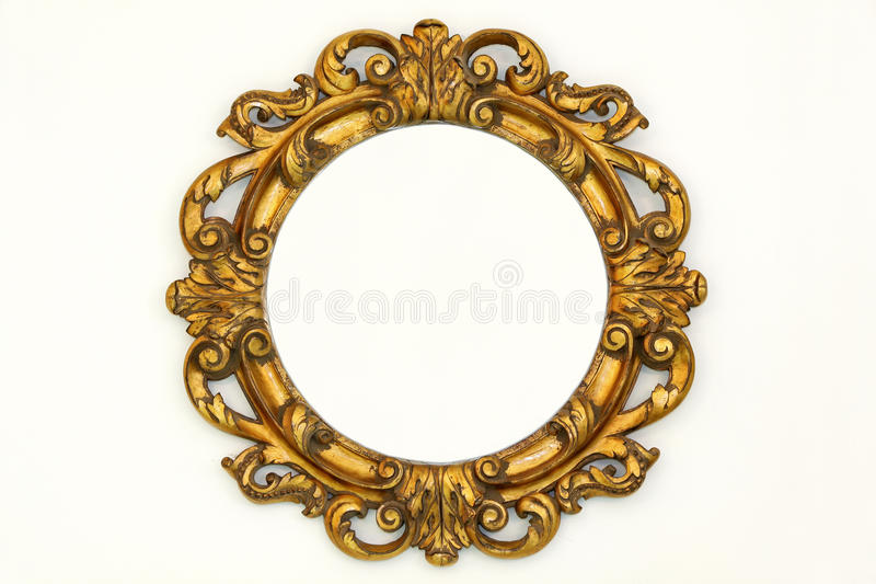 Barofque frame royalty free stock photo