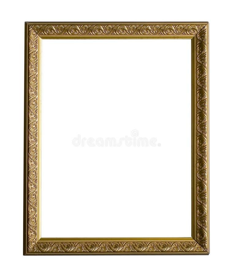 Barok frame royalty-vrije stock afbeelding