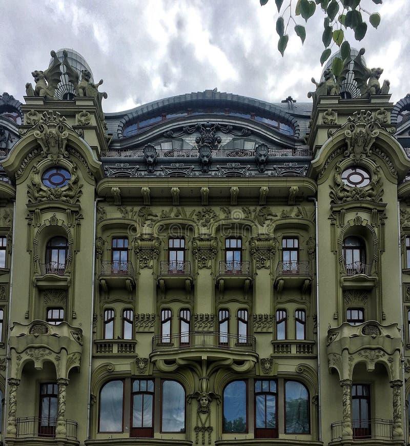 Barok hotel stock fotografie