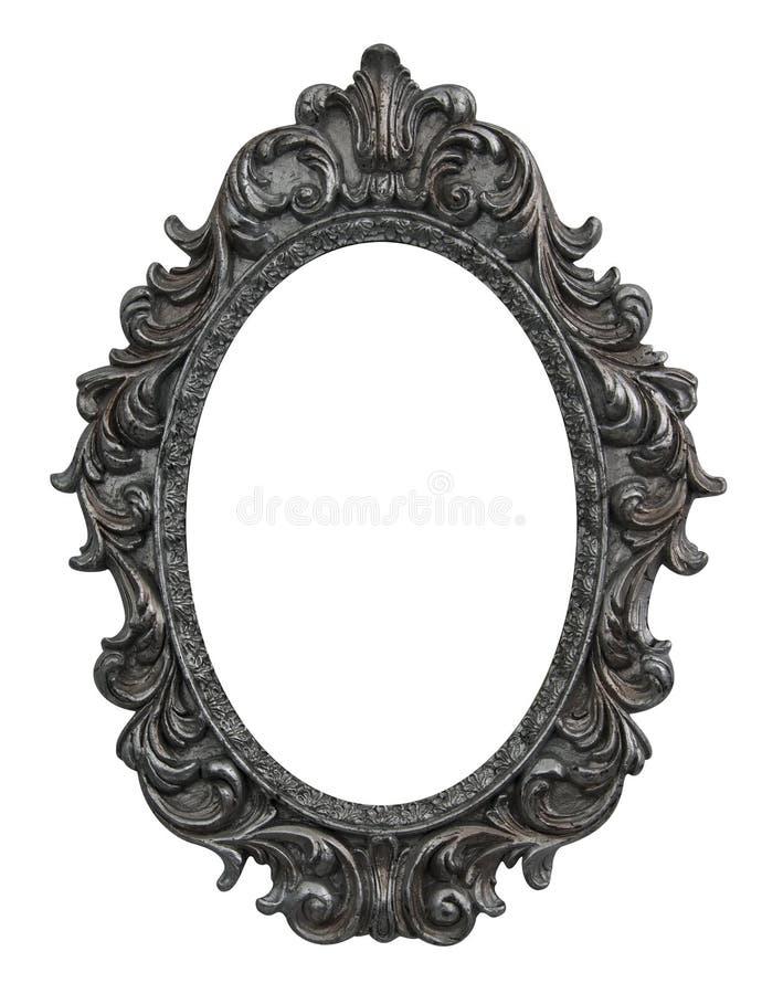 Barok ovaal frame royalty-vrije stock foto's