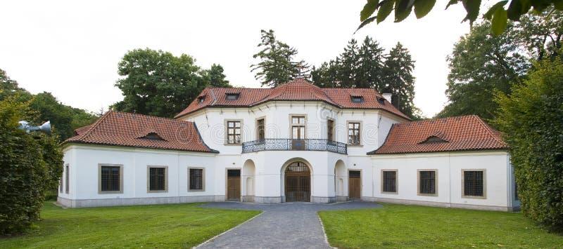Barok paviljoen in Praag stock fotografie