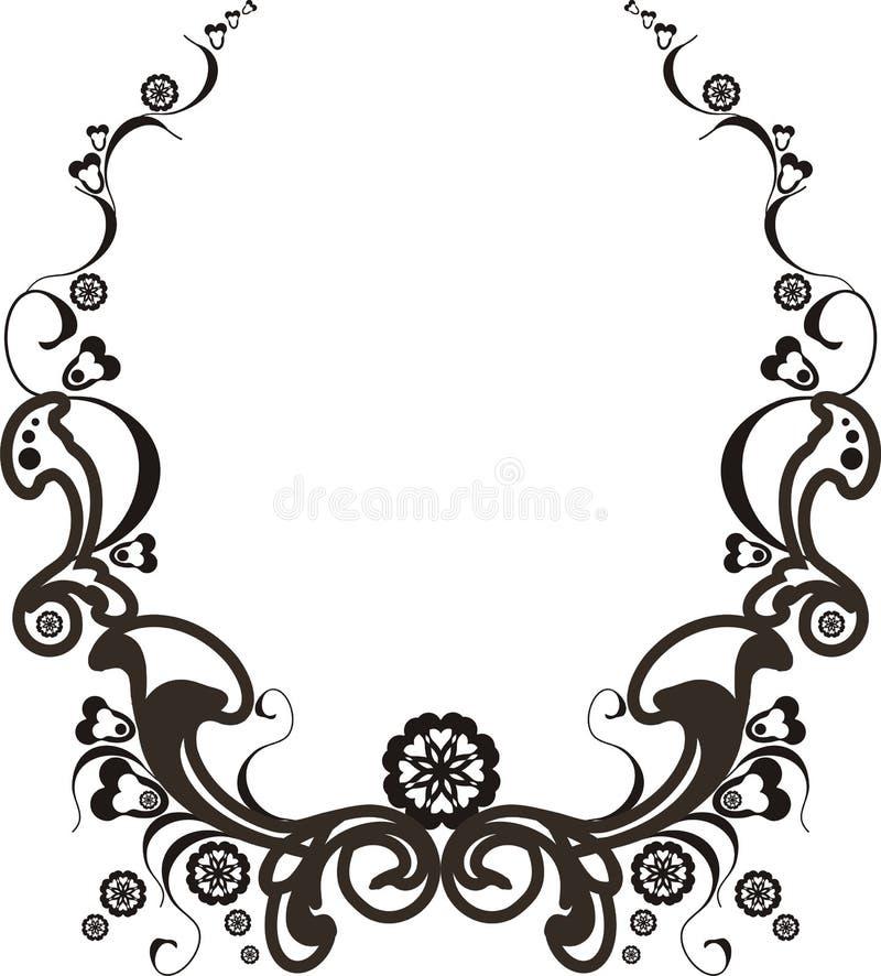 barok rama royalty ilustracja