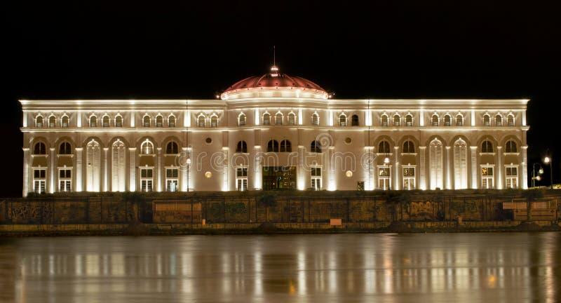 Barok theater royalty-vrije stock fotografie