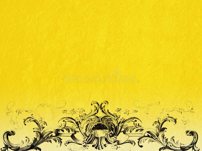 Barokke achtergrond vector illustratie