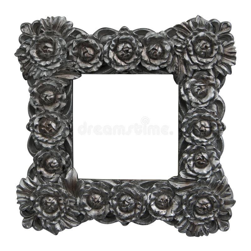 Barokke frame rozen stock fotografie