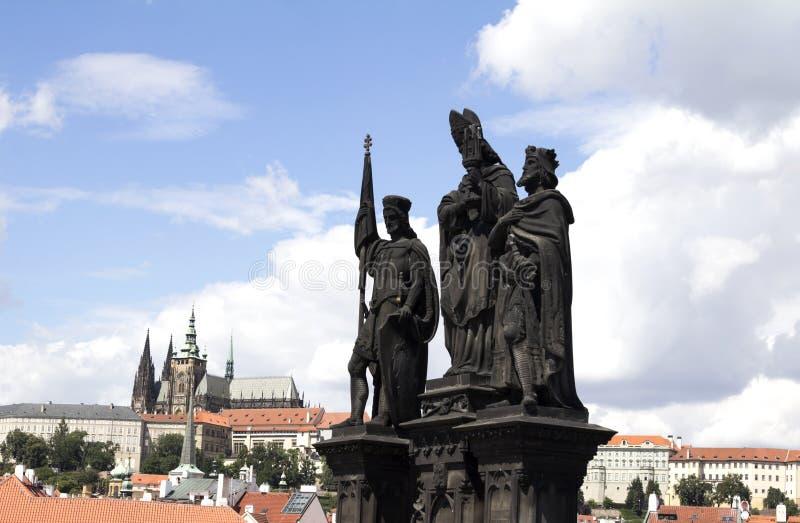 Barokke standbeelden royalty-vrije stock afbeeldingen