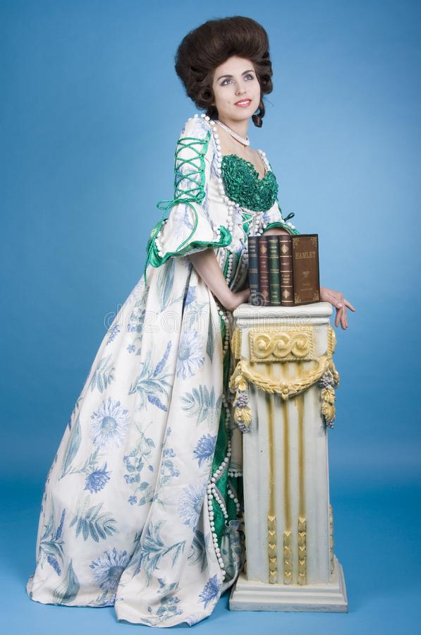Barokke stijl royalty-vrije stock foto