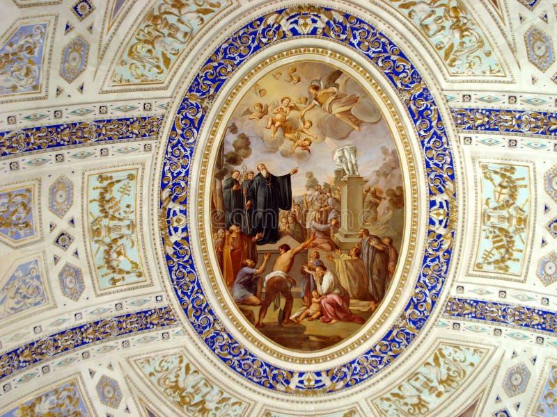 Barokke stijl in Sicilië, Italië stock foto