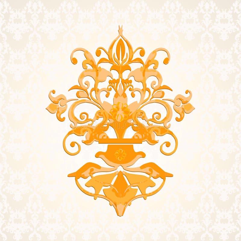 Barokke vector royalty-vrije illustratie