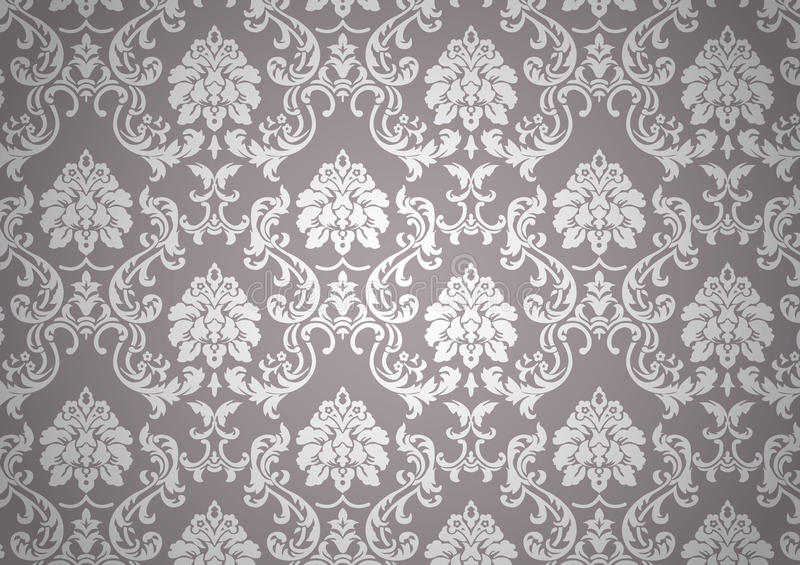 barokowa świecąca tapeta