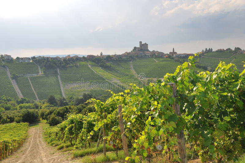 Barolo Italy stock photo