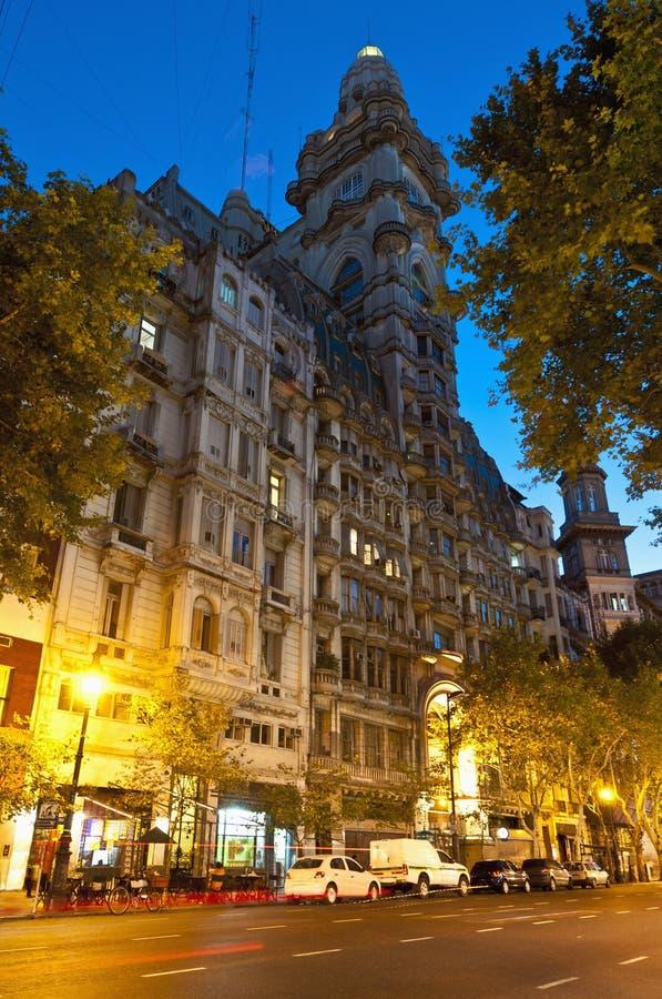 Barolo Palace at Buenos Aires, Argentina stock photo