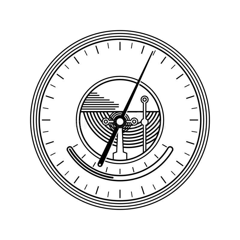 Barometer royalty-vrije illustratie