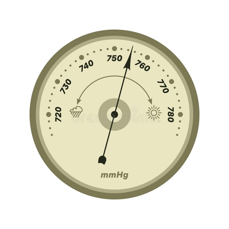 Barometer stock illustratie