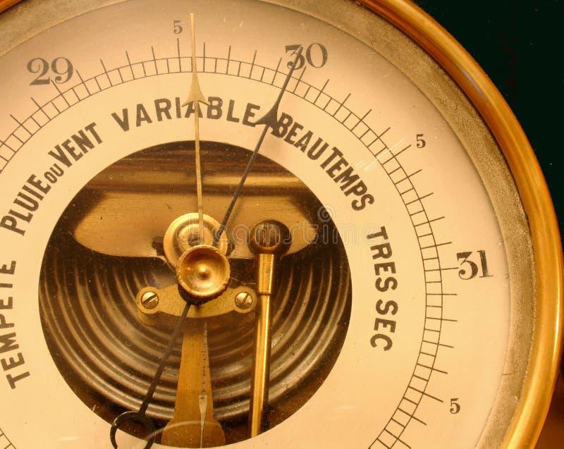barometer arkivfoto