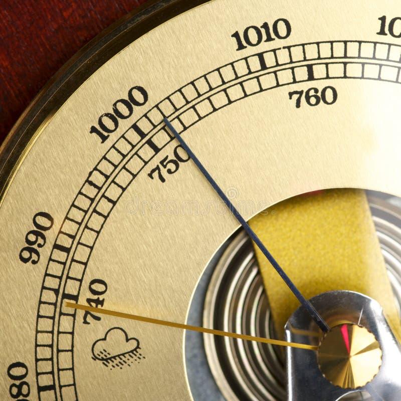 barometer royaltyfri fotografi