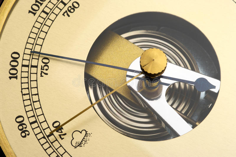 barometer arkivbild
