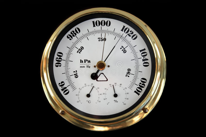 Barometer lizenzfreie stockfotos