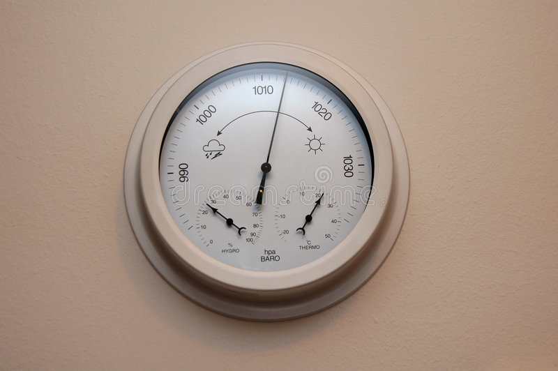 Download Barometer Royalty Free Stock Photo - Image: 3474055