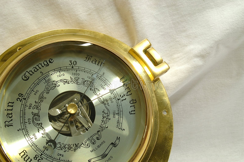 Barometer royalty free stock photo