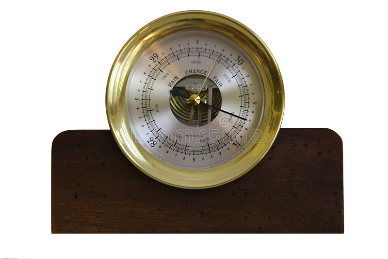 Barometer royalty-vrije stock foto