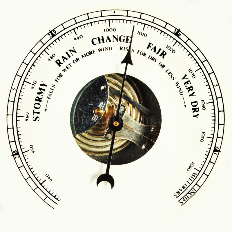 Download Barometer Dial Change Royalty Free Stock Photography - Image: 21712957