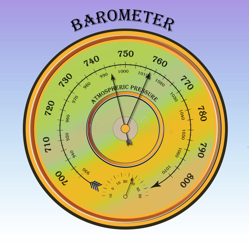 Download Barometer Stock Illustration - Image: 41898754