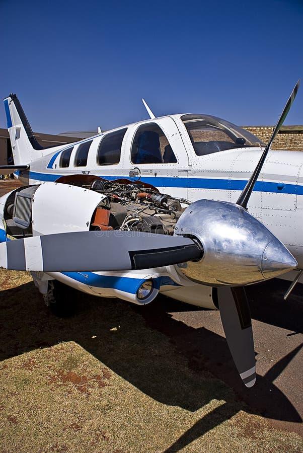 Baron 58 de Beechcraft de colporteur photo stock