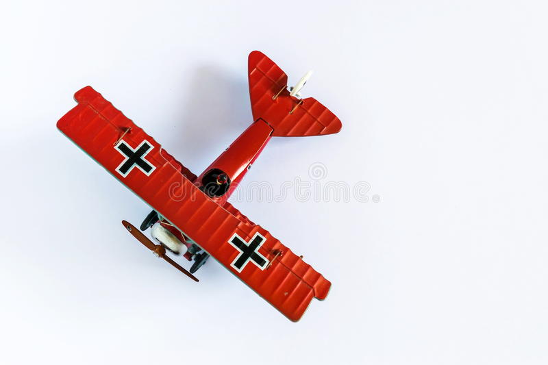 Baron Airplane rouge images stock