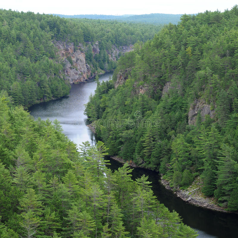 Baron Canyon, Ontario photographie stock