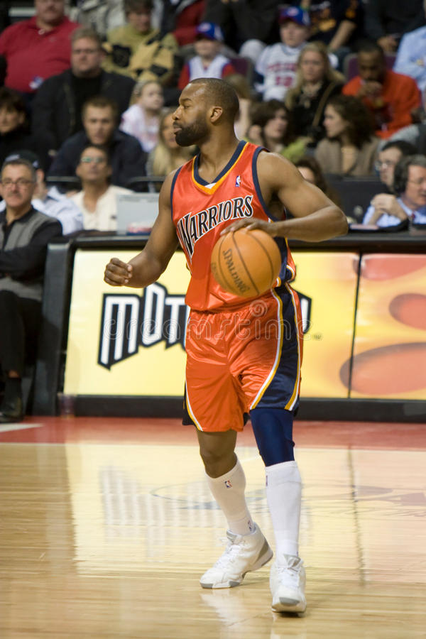 Baron Davis Has The Ball photos libres de droits
