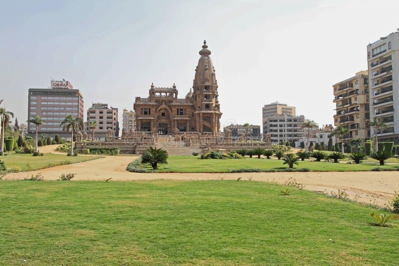 Baron Empain Palace Cairo image stock