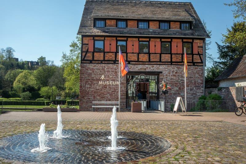 Baron Munchausen muzeum w Bodenwerder obraz royalty free