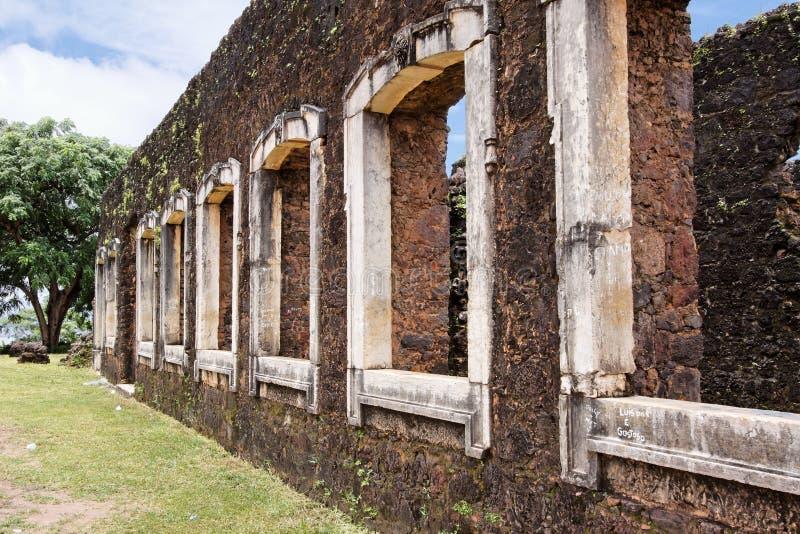 Baron Palace Ruins de Pindare photos stock
