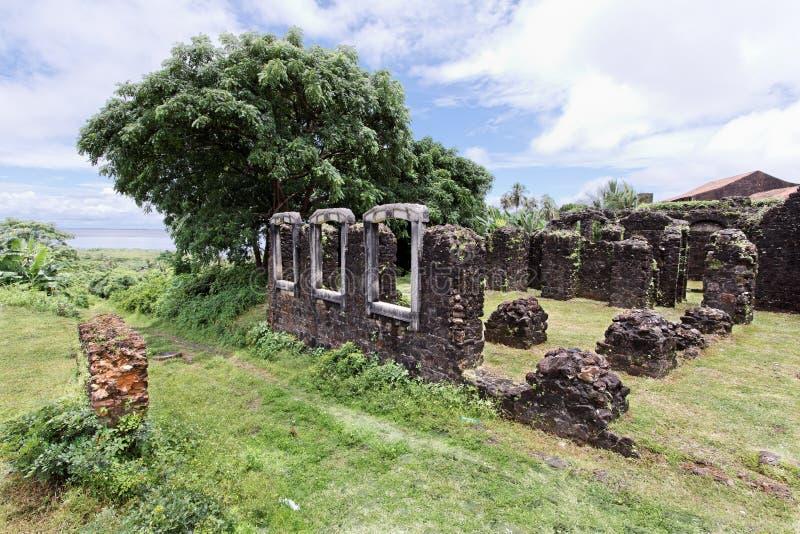 Baron Palace Ruins de Pindare photos libres de droits