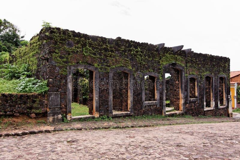 Baron Palace Ruins de Pindare photo stock