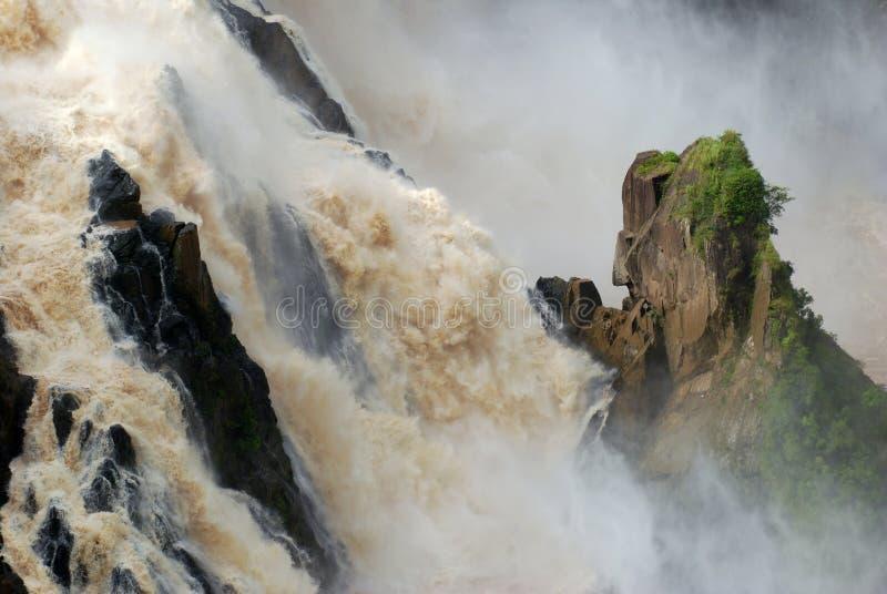 Baron River Falls Kuranda, Queensland, Australien royaltyfria bilder