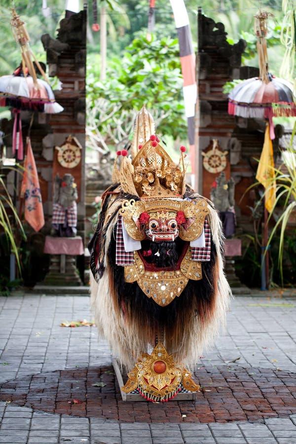 Barond舞蹈巴厘岛印度尼西亚 免版税库存图片