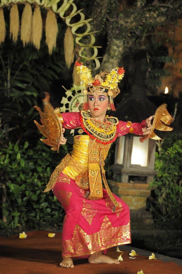 barong舞蹈legong 免版税库存图片