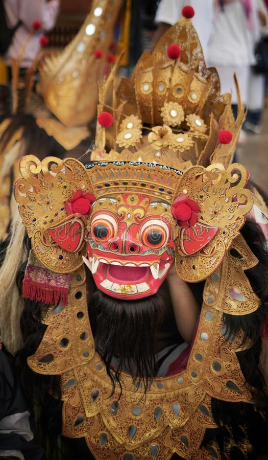Barong Dance. Bali Barong Dance show royalty free stock photos