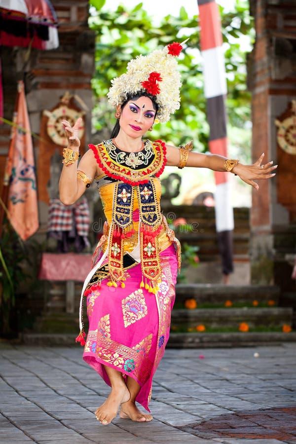 Barong Dancer. Bali, Indonesia. BATUBULAN, BALI, INDONESIA- JUNE 23: Barong Woman Dancer on June 23, 2011 in Batubulan, Bali, Indonesia stock images
