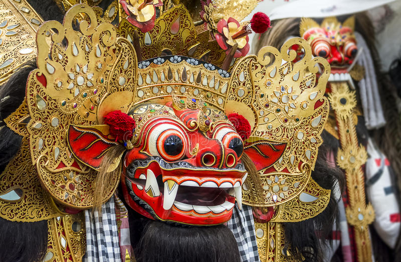 Barong Mask royalty free stock images
