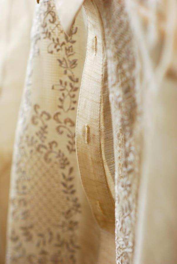 Barong Tagalog Pattern. Barong Tagalog formal wear pattern royalty free stock image