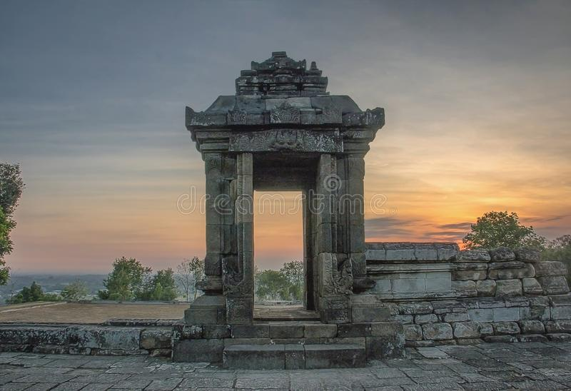 Barong Temple is one of the temples in Indonesia royalty free stock images
